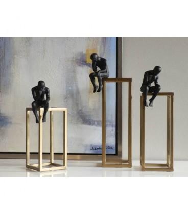 Figuras de decoración de diseño pensador