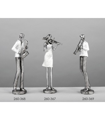 Figuras decorativas músicos