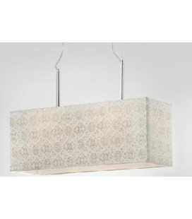 Lámparas de techo Mordis rectangular