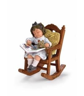 Figura decoración En la mecedora de la abuela de Nadal