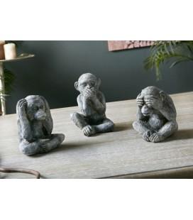Conjunto de monos ver oír y callar