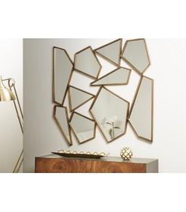 Espejo de pared original abstracto Globo
