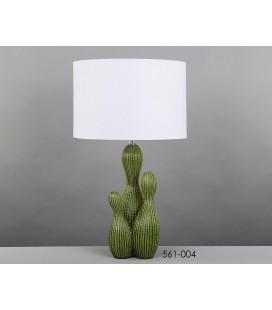 Lámpara de sobremesa cactus verde